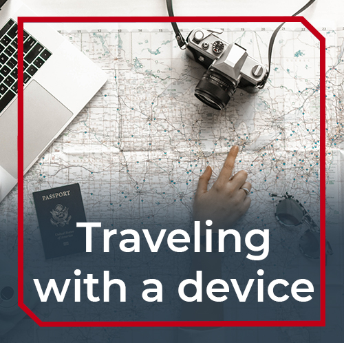 Traveling with a medical device